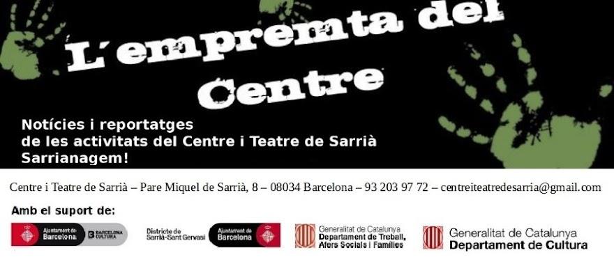 Empremta del Centre de Sarrià