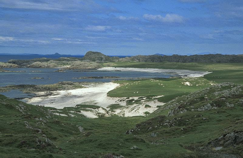 Iona: A beautiful, mystical, remote setting.