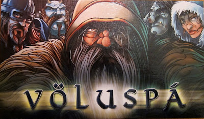 Voluspa - The artwork on the reverse of the score board