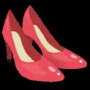 ハイヒールのイラスト(靴)