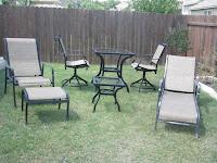 craigslist patio furniture sets