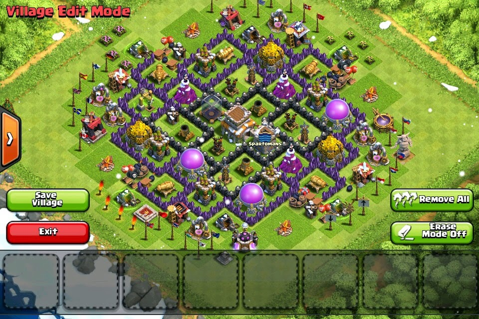 The best attack strategy town hall 8 clash of clans th8 2015