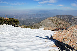 Mount Baldy Summit, Devil's Backbone Trail
