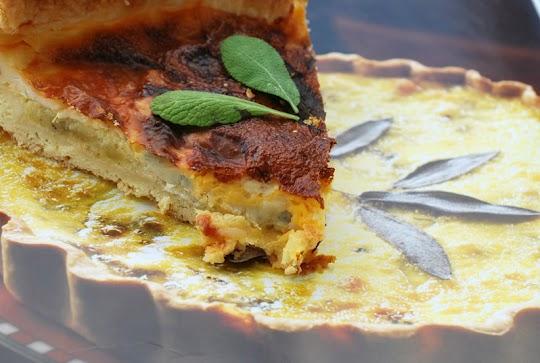 Tarta z kabaczkiem i gorgonzolą