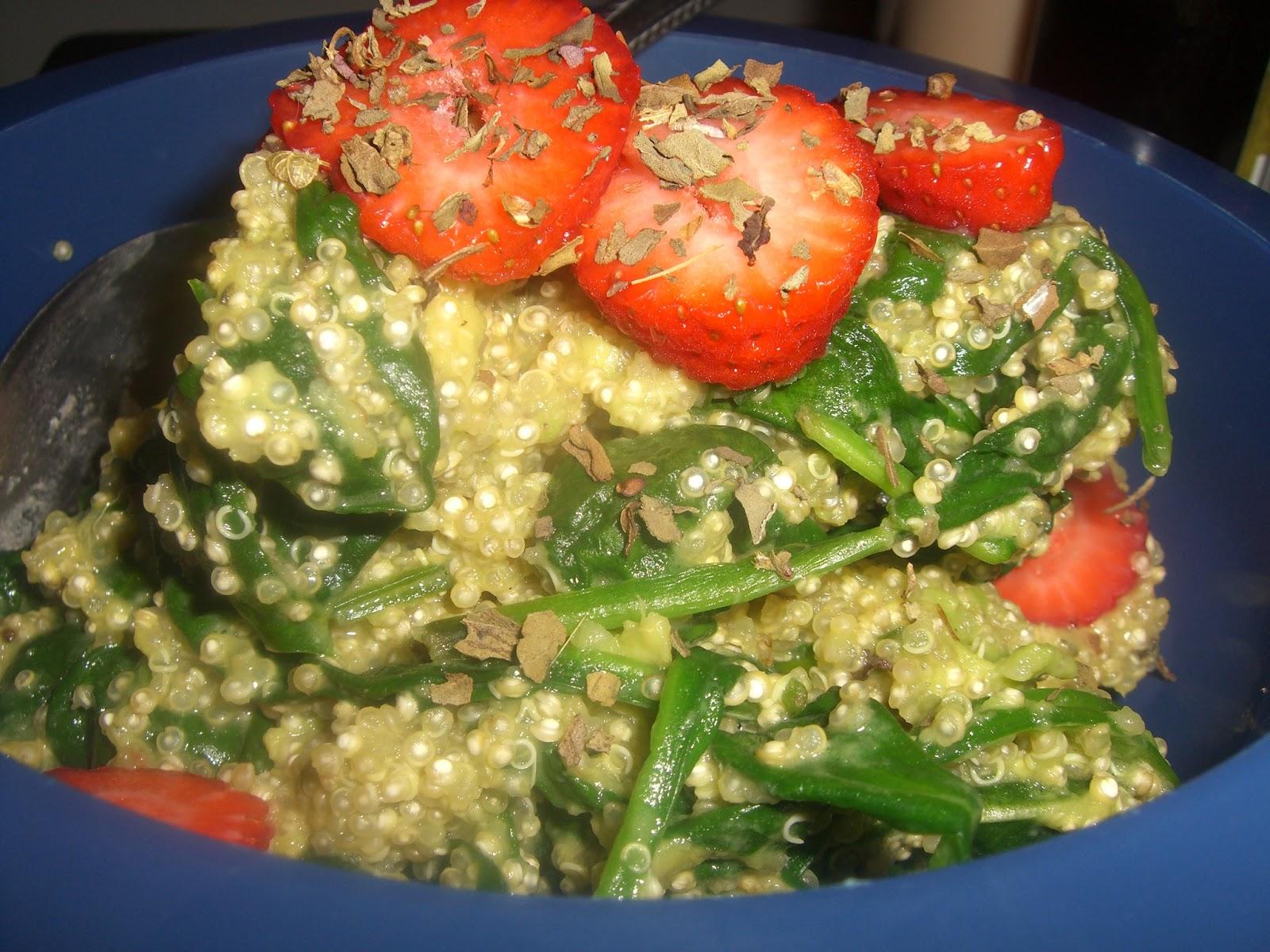 how to make quinoa salad with avocado