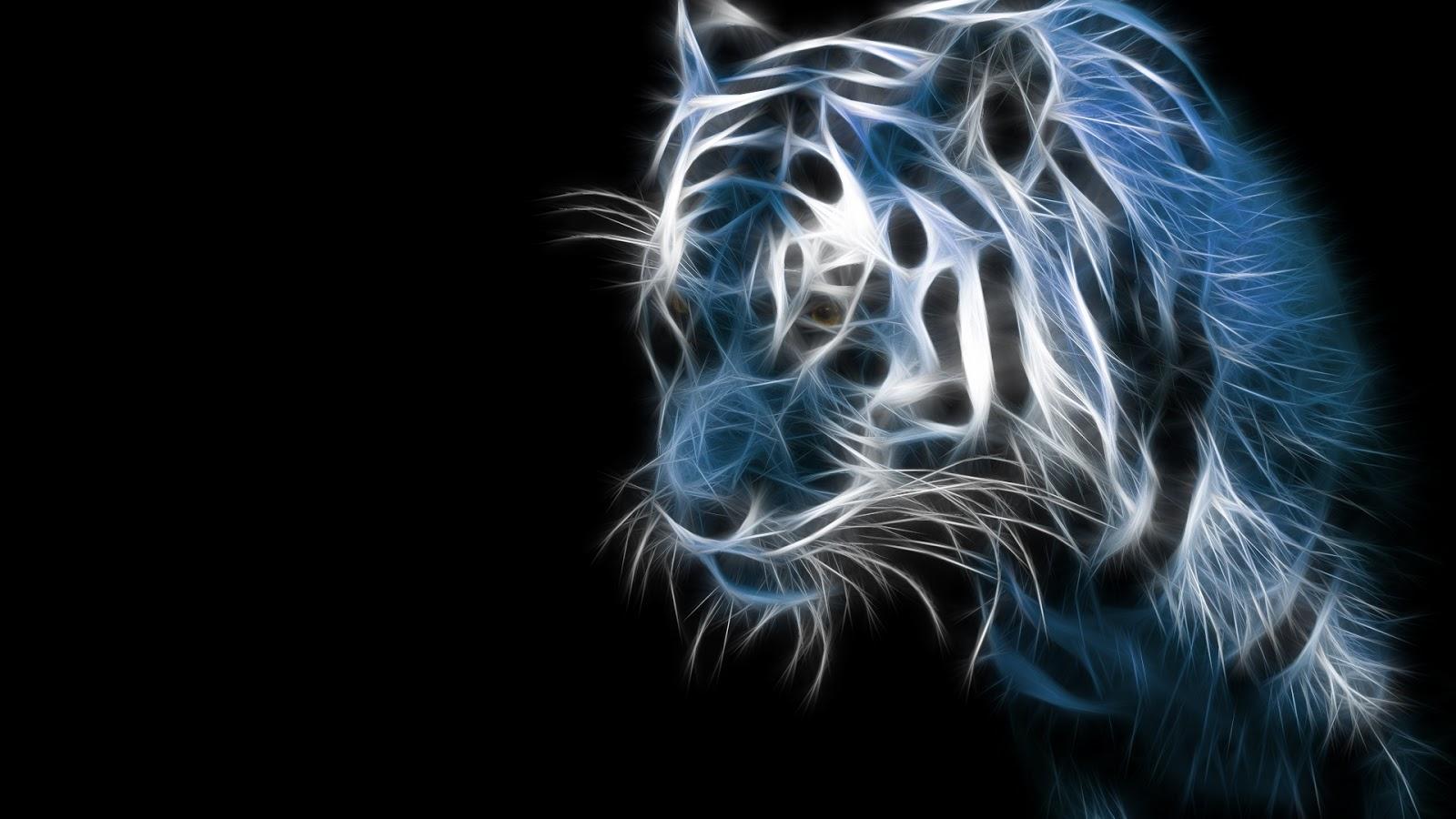 desktop 3d white tiger - photo #30