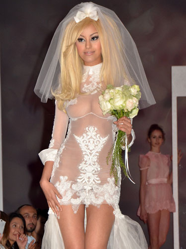 The Wedding Adress The Ugly Wedding Dress Of The Week