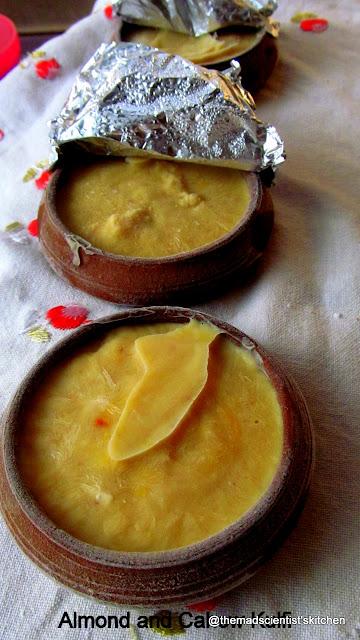 Cashew Nut and Almond Kulfi/Qulfi/Khulfi , Frozen Dairy Dessert