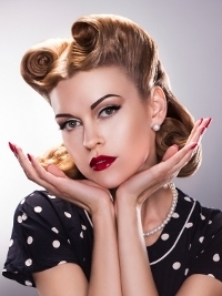 50s hairstyles short pin up hairstyles  ft7 fashion