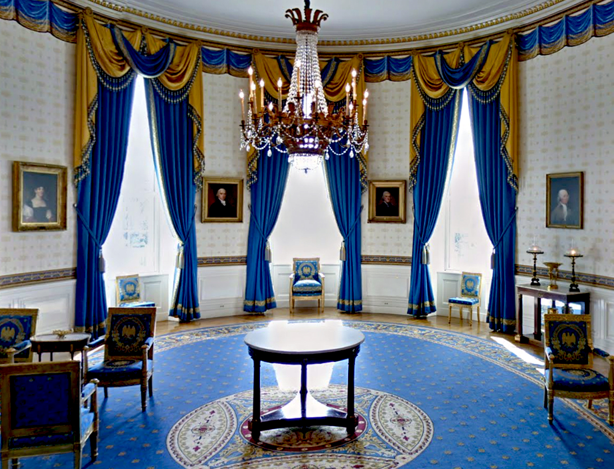 Star bunny studio the white house for The blue room