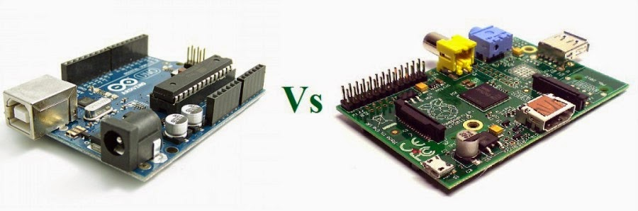 Arduino vs raspberry pi firmcodes