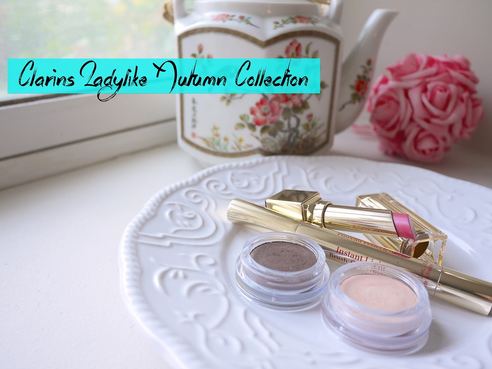 Clarins Ladylike 2014 Autumn MakeUp Collection nude pink earth candy rose swatch review