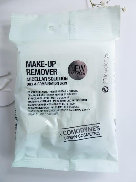 MAKE-UP REMOVER MICELLAR SOLUTION OILY&COMBINATION SKIN Makiažo valymo servetėlės su miceliniu vandeniu riebiai ir mišriai odai
