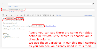 Steps 15 - Write an Email & Define Some Variables
