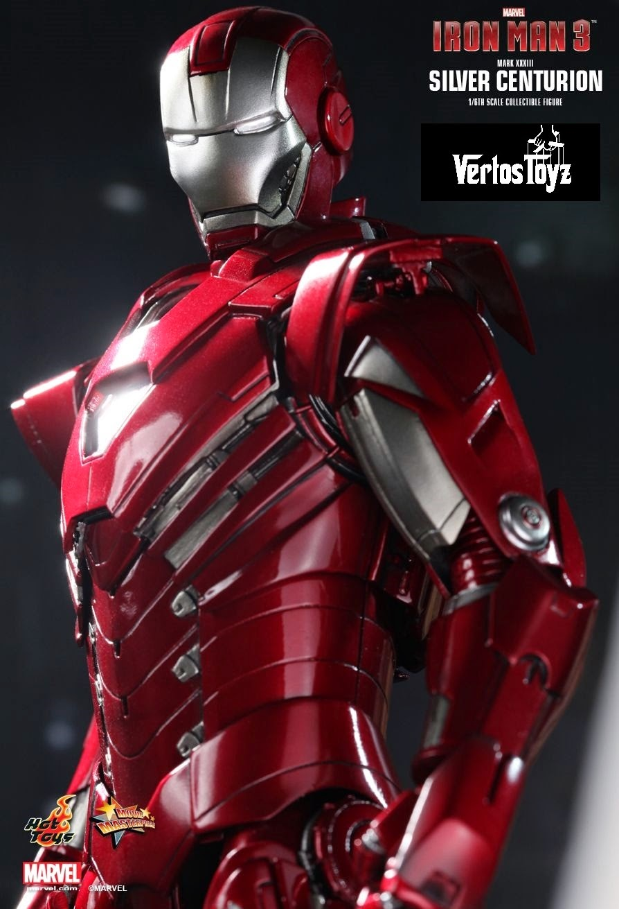 IN STOCK / . IRON MAN SILVER CENTURION