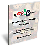 New e-book about Scrapbooking & Writing Memories