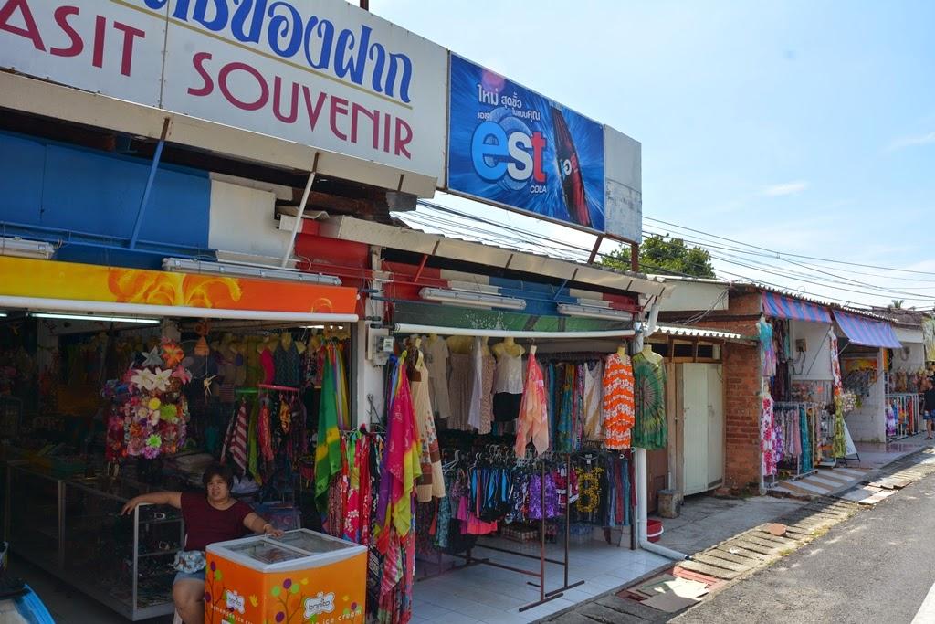 Promthep Cape Phuket shops