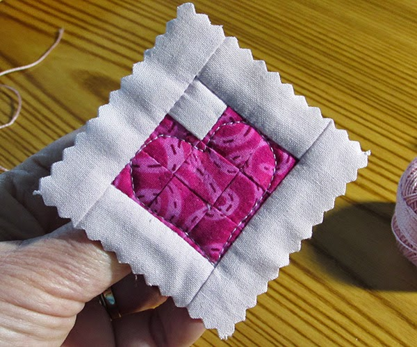 taste of Nectar quilted pin variation