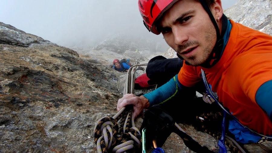 Escalador aragonés Dani Moreno
