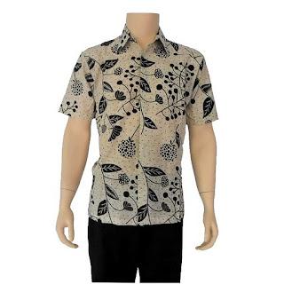 GAMBAR Design Baju Batik Pria Lengan Pendek