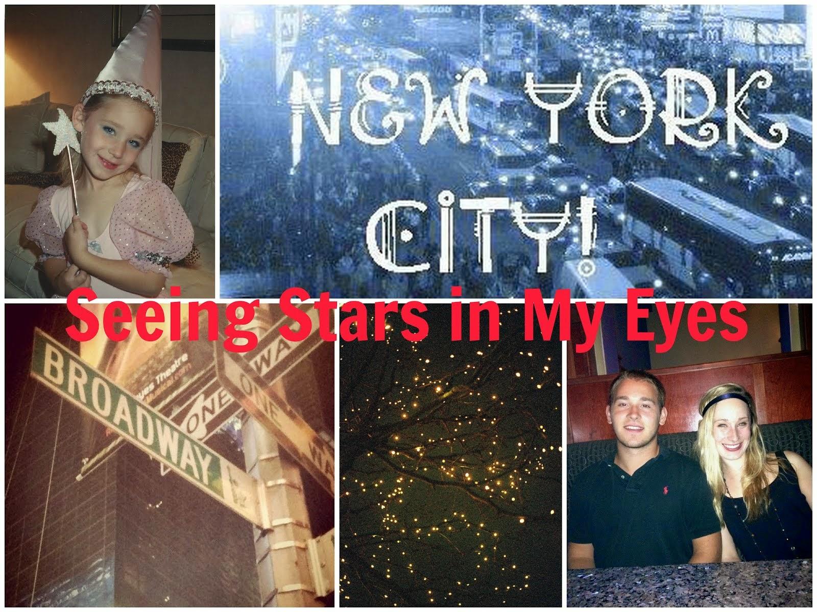 Seeing Stars in my Eyes