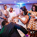 Wife and husband dancing Azonto, wedding Time