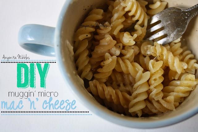 DIY Microwavable Mac N Cheese Mug by Anyonita Nibbles