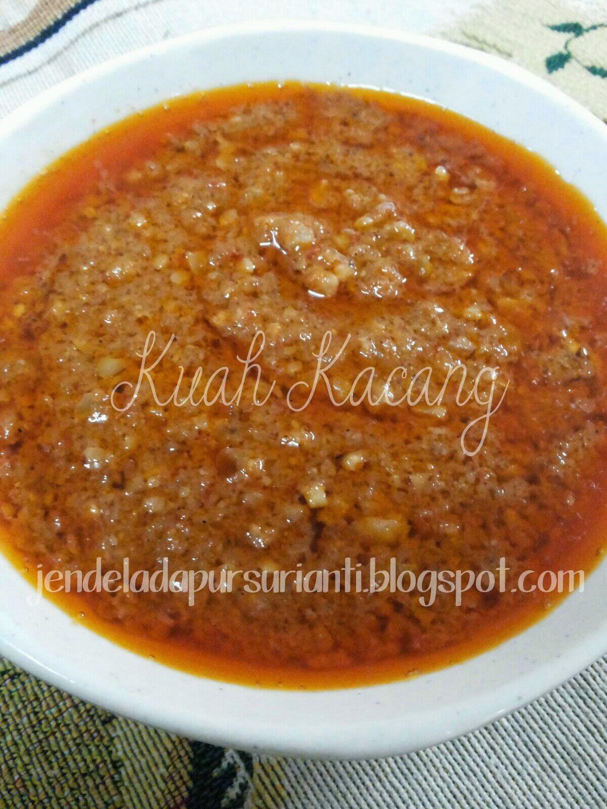 Jom Masak Kuah Kacang Untuk Dimakan Bersama Ketupat Nasi