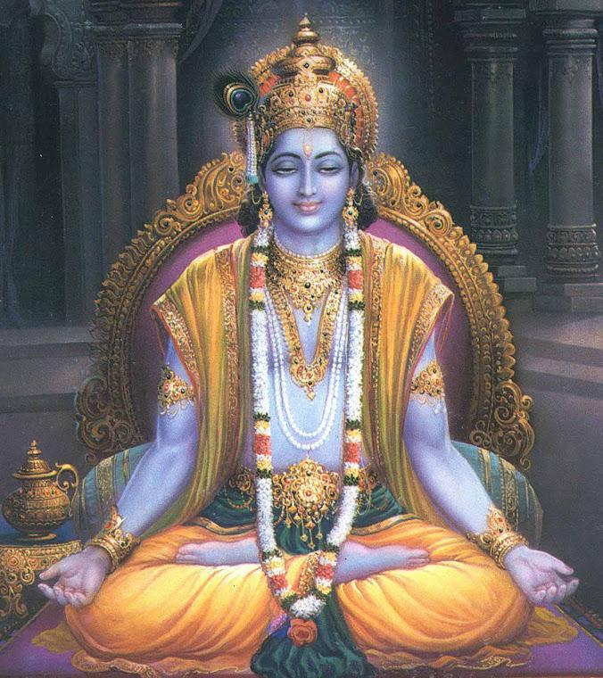 Krishna. El dios hindú. Otra de las figuras con analogías en su vida a la de Jesús.