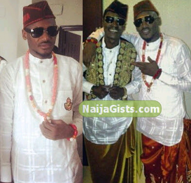 2face idibia traditional wedding photos