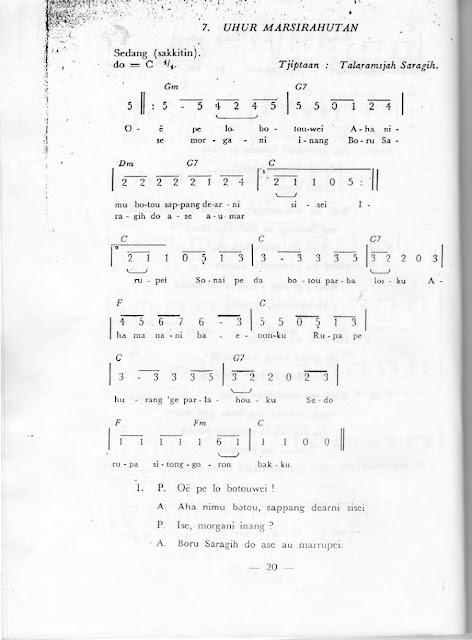 partitur uhur marsihautan