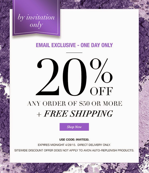 Avon Promo Code April 2015 Buy Avon Online View New