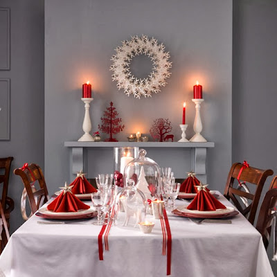 Holiday Dining Table Decorations