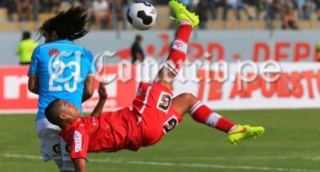 Junior Viza, jugador de Juan Aurich, anotó un golazo de chilena