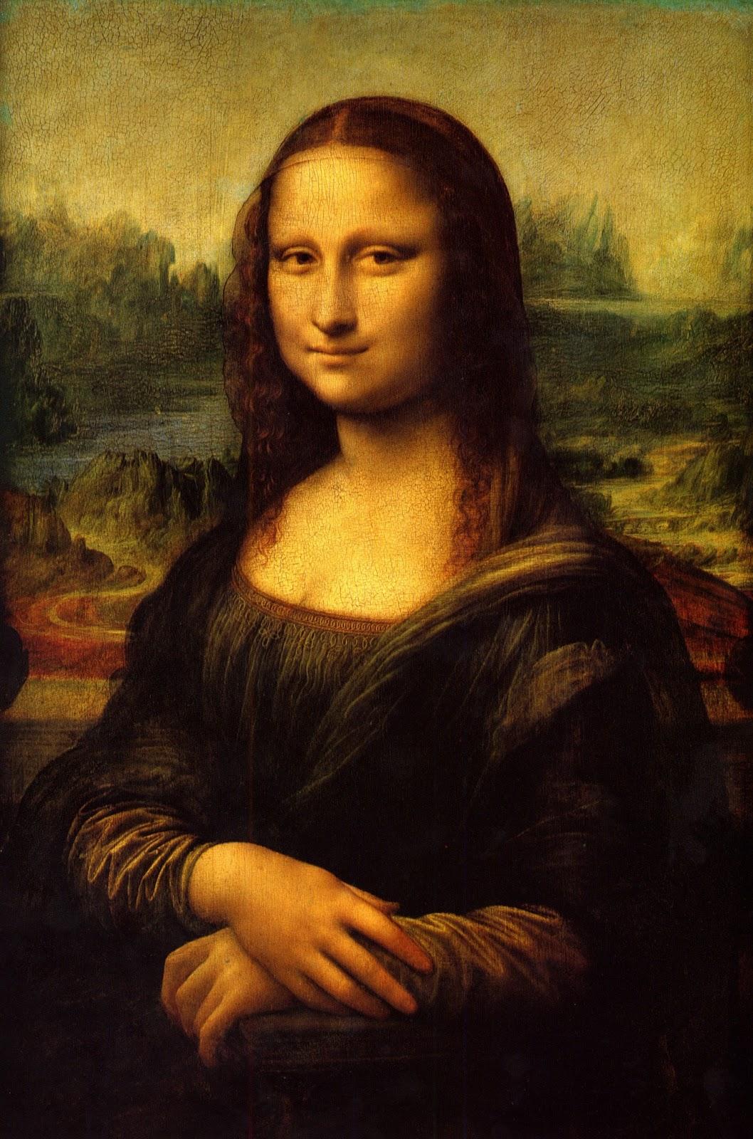 ikdrawingz: Alien auf Mona Lisa?