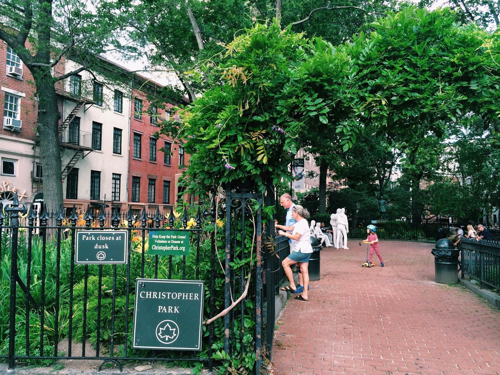 Park, Garden, Christopher Park