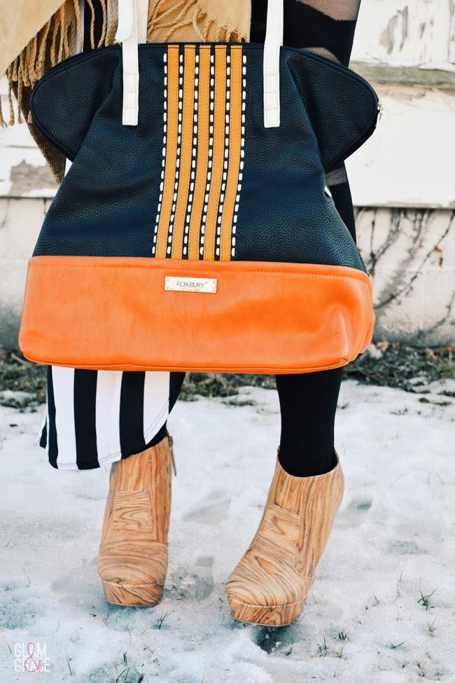 Fringe & Colorblock Bag
