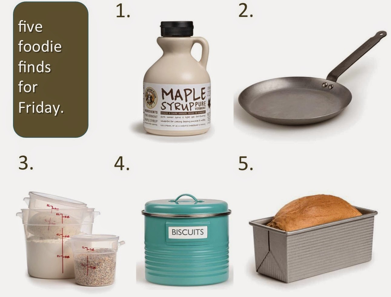 Five Foodie Finds for Friday December 5 2014 King Arthur Flour (c)nwafoodie