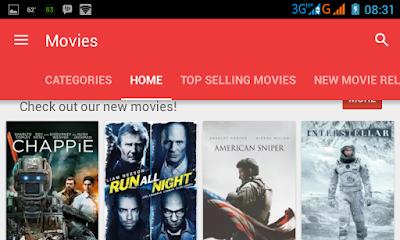 pecinta film ? Toko Film resmi kini Hadir di Google Play Store