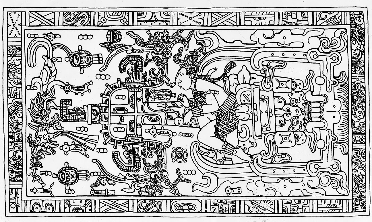 Alien Explorations Mayan Rocket Man Segment From The Case Of The