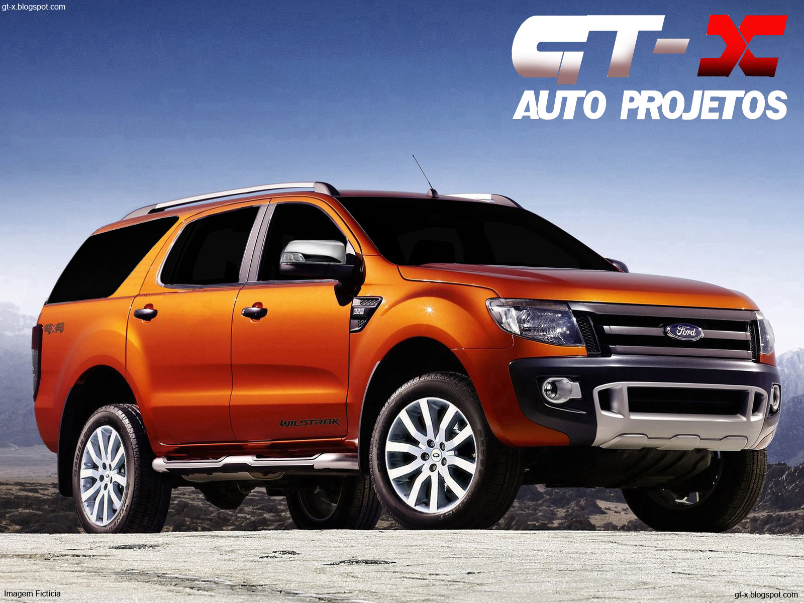 my favorite is the blue and orange one before ford ranger suv came out