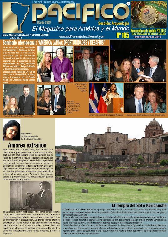 Revista Pacífico Nº 165 Arqueología