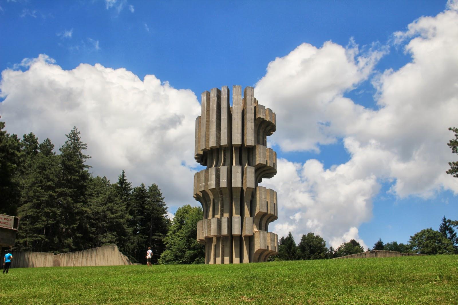 Kozara Monument Spomenik Revolucije na...