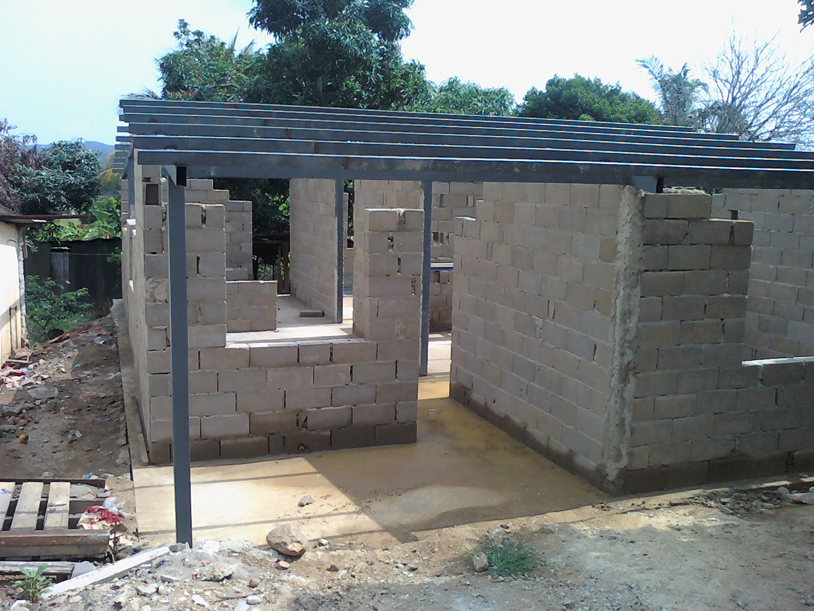 ideas en hierro forjado estructuras de hierro para casas