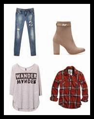 look-pantalones-desgastados-stradivarius-camisa-tartan