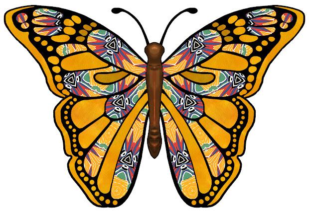 artbyjean - paper crafts butterfly