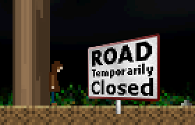 Road Temporarily Closed