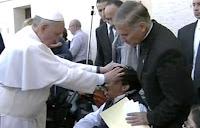 Exorcismo del Papa Fransisco
