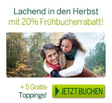 Center Parcs Frühbucherrabatt