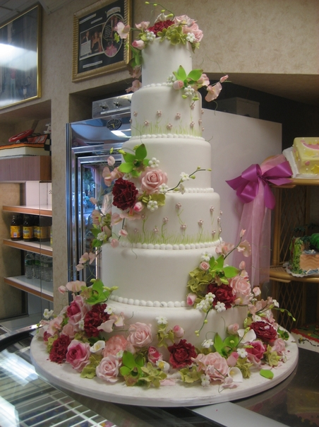 Jennefer s blog: Note how the Cake Boss masters a white on ...